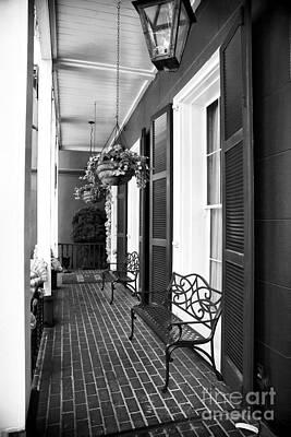 The Front Porch Art Print by John Rizzuto
