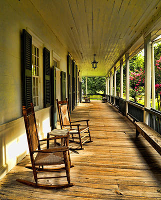 Photograph - The Front Porch by Judy Vincent