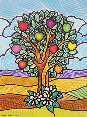 The Fruit Of The Spirit Tree Art Print