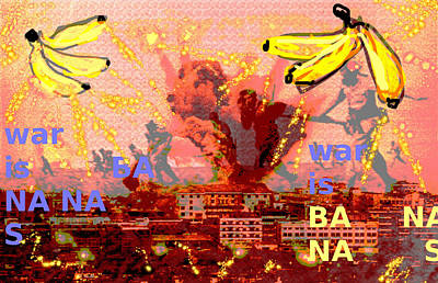 Latin Painting - The Fruits Of War ... Las Frutas De La Guerra  by Paul Sutcliffe