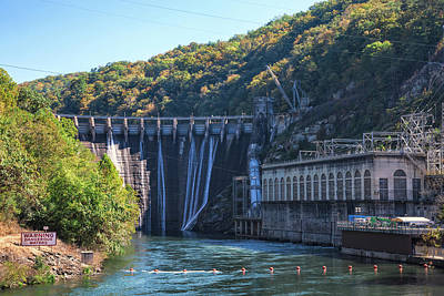 Photograph - The Fugitive Dam by John M Bailey