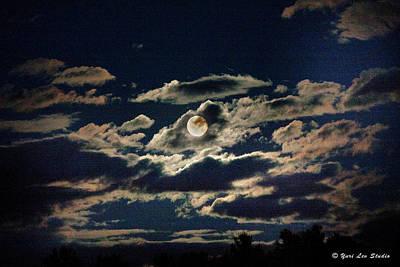 Photograph - The Full Buck Moon by Yuri Lev