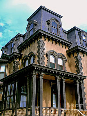 Photograph - The Fulton Mansion by Methune Hively