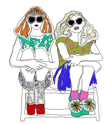 Mannequin Dresses - The Funks by Soutaine Jobson