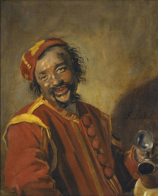 Painting - The Funny Drinker by Frans Hals