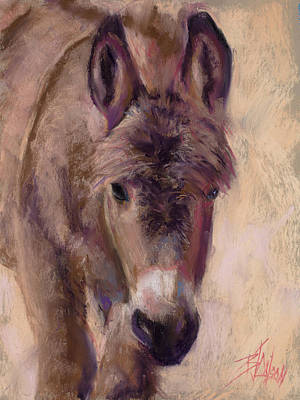 Painting - The Furry One by Billie Colson
