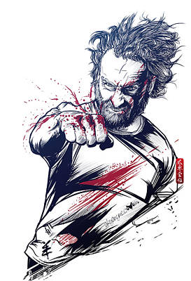 The Fury Of Rick Art Print by Akyanyme