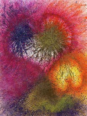 The Fusion Of Endless Love And Light #678 Art Print
