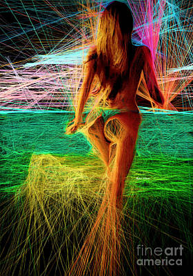 Digital Art - The Future Is Ahead by Rafael Salazar