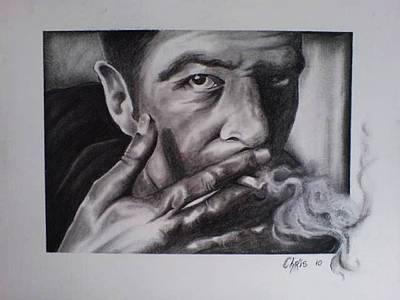 Joe Strummer Painting - The Future Is Unwritten by Chris Mc Crossan