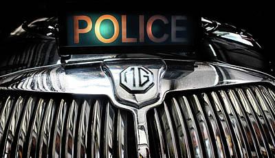 Police Cruiser Photograph - The Fuzz by Martin Newman