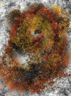 Digital Art - The Galaxy Of The Lion by Mario Carini