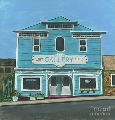 Painting - The Gallery by Gail Finn