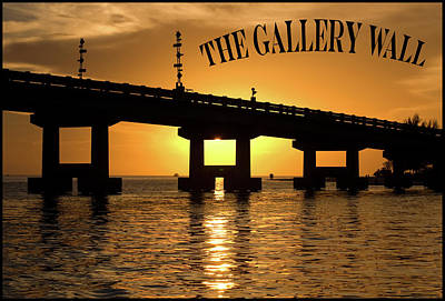 Photograph - The Gallery Wall Logo 2 by Ginger Wakem