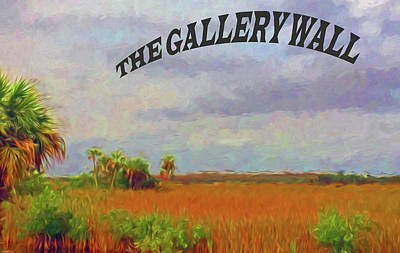Photograph - The Gallery Wall Logo 3 by Ginger Wakem