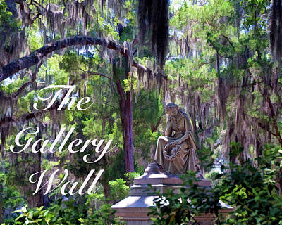 Photograph - the Gallery Wall Logo 5 by Ginger Wakem