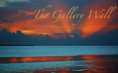Photograph - The Gallery Wall Logo 1 by Ginger Wakem