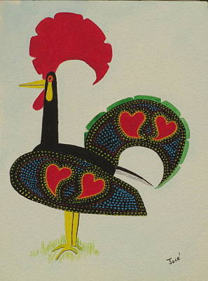 Painting - The Galo De Barcelos by Hilda and Jose Garrancho