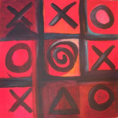 Painting - The Game Is Fixed by Andrea Friedell