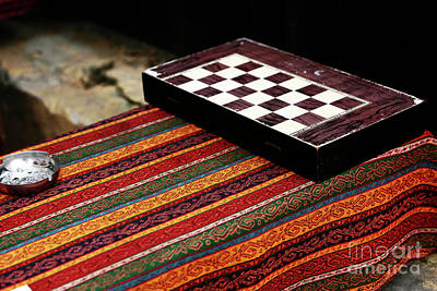 Backgammon Photograph - The Game by John Rizzuto