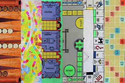 Digital Art - The Game Name by John Haldane