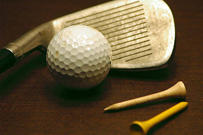 Photograph - The Game Of Golf by David Weeks