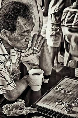 Old Time Feel Photograph - The Gamers - Revanche by Benjamin Dupont