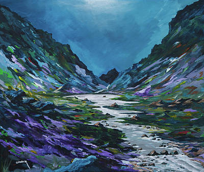Painting - The Gap Of Dunloe by Conor Murphy