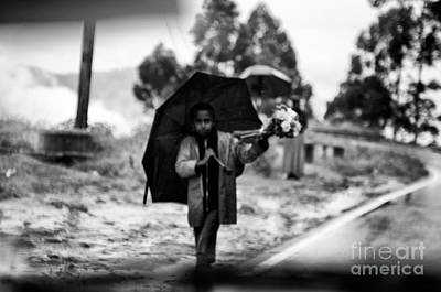 Photograph - The Gap Rich And Poor by Venura Herath