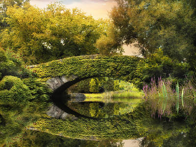 Photograph - The Gapstow Bridge by Jessica Jenney