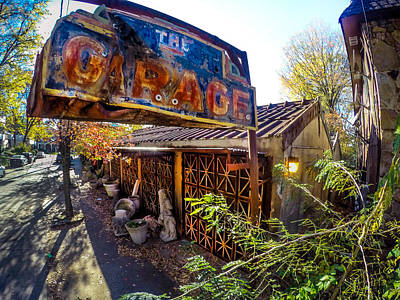 Photograph - The Garage Bar In Birmingham Alabama by Michael Thomas