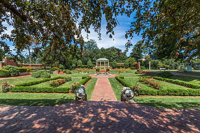 Photograph - The Garden At Lynch Park by Brian MacLean