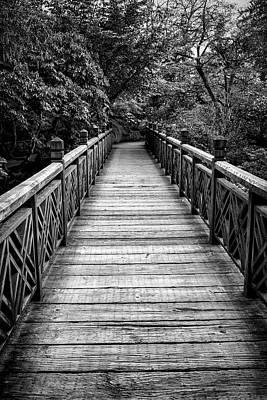 Photograph - The Garden Bridge by Steven Clark