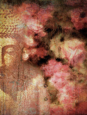 Photograph - The Garden Buddha 1 by Sand And Chi