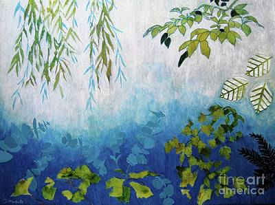 Painting - The Garden by Diane Marcotte