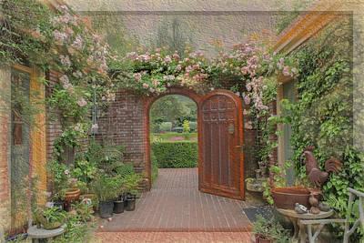 Photograph - The Garden Door by Patricia Dennis