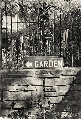The Garden Gate Art Print by Jim Furrer