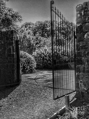 Photograph - The Garden Gate by Joan-Violet Stretch