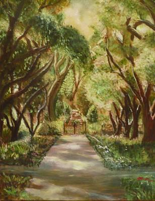Painting - The Garden Gate by Jodi Marze Kass