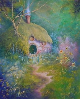 Painting - The Garden Gate by Joe Gilronan
