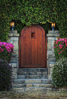 Farm House Style - The Garden Gate by Mitch Shindelbower