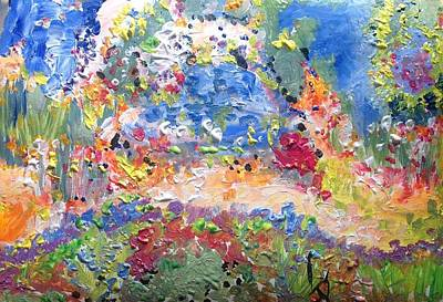 Painting - The Garden Had No Ego  by Judith Desrosiers