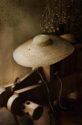 Photograph - The Garden Hat by Robin-Lee Vieira