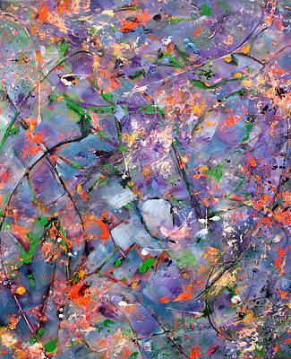 Painting - The Garden In Spring by Lynda Lehmann