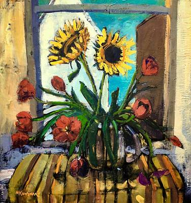 Provincetown Painting - The Garden Inside by Marc Kundmann