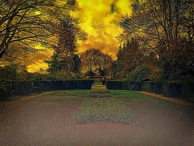 Digital Art - The Garden by Leigh Kemp
