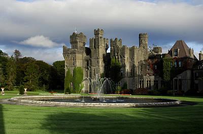 Ashford Photograph - The Garden Of Ashford Castle In Mayo by Chris Hill