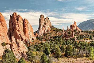 Photograph - The Garden Of The Gods - Colorado by Kristia Adams