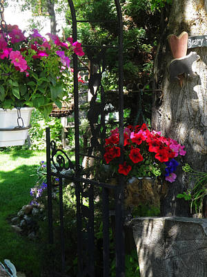 Photograph - The Garden Portal by Jacqueline  DiAnne Wasson