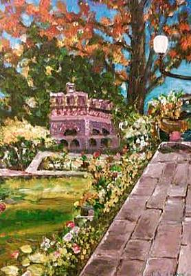 Painting - The Garden by Ray Khalife